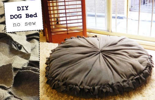 Dog Bed Pillow Giant Tiger