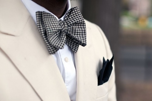 Men with bow ties